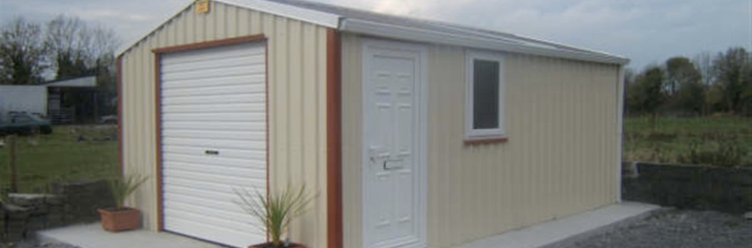 McT Woodproducts; Steel Garages