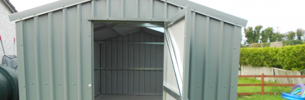 McT Woodproducts; Steel Sheds Gallery